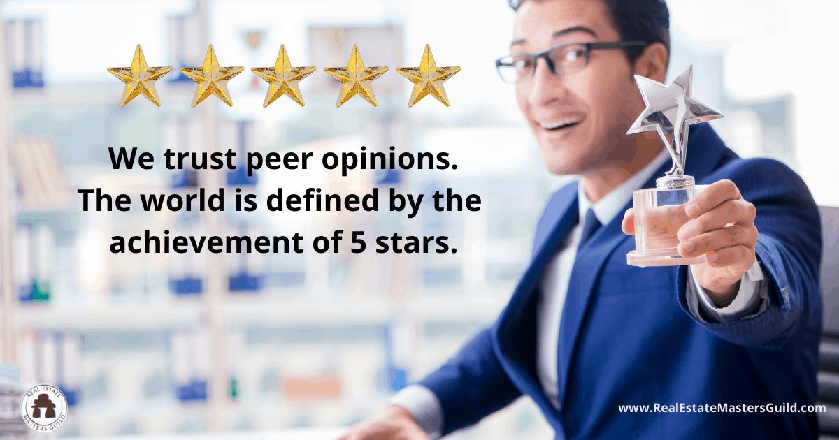 ask for peer reviews